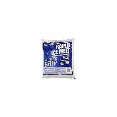1 X Ice Melt Rapid 10kg Clear Paths Steps Driveway Extra Grip Stop Refreeze
