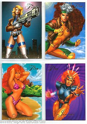 JEAN GRAY 1994 Flair Marvel #142 comic trading card X-MEN GOLD MUTANT GENESIS