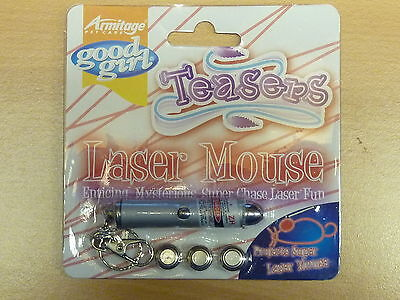 Laser Mouse ~ A Good Girl Laser Fun Toy - Projects Mouse Outline Light To Chase
