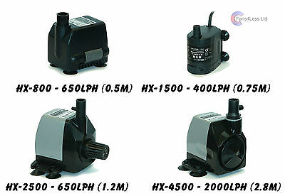 HAILEA Immersible Water Pump Hydroponics Fish Pond & Grow Tent Up to 2500Lph
