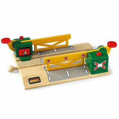 BRIO 33750 Magnetic Level Crossing for Wooden Train Set