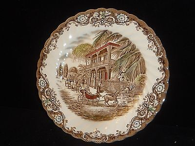 Heritage Hall Salad Dish / Platter Made in Staffordshire England