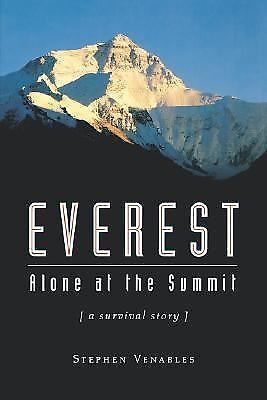 Everest: Alone at the Summit (Adrenaline), Venables, Stephen, Good,  Book