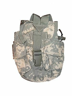 US ARMY Military Surplus ACU MOLLE 1qt Canteen GP Utility Ammo Pouch BD or GD VG