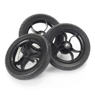 "Out n About Nipper EVA Wheel Set (3 x 10"" Replacement Puncture Proof Wheels)"