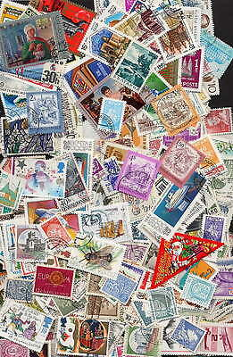 Extraordinary Collection Of 1000 Different Europe - No Duplicates - $300 Value!!