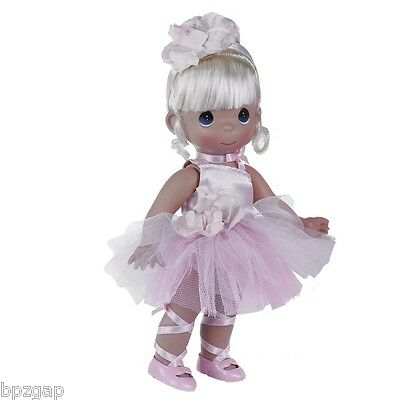 "Precious Moments Ballerina Bliss Blonde 12"" Doll #4708"