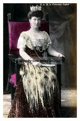 mm935 - Princesse Sophie of Greece - Royalty photo 6x4
