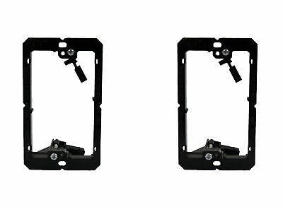 (2 Pack) Arlington LV1 1-Gang Low Voltage Mounting Bracket for Wall Plate