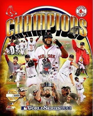 Boston Red Sox 2013 World Series Limited Edition (# of 5,000) Team Photo 8x10