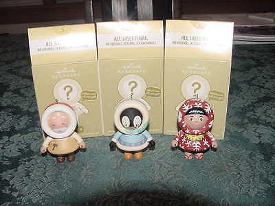 FROSTY FRIENDS  Mystery Set COMPLETE SET OF 3 -Limited Ed.Hallmark 2011