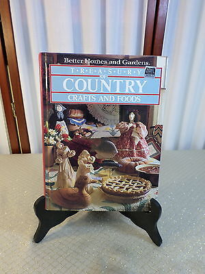 1983 Hardcover-Better Homes & Gardens-Treasury of Country Crafts & Foods