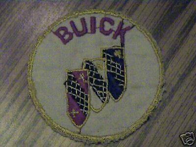 VINTAGE,BUICK,USED,GM,OLD,RARE, COMPANY  PATCH,RARE,1