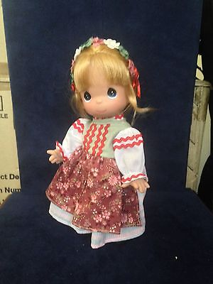 "Precious Moments The Flower Girl 9"" Doll"