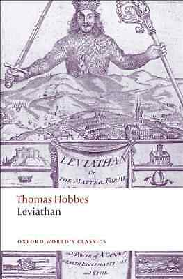 Leviathan (Oxford World's Classics) - Paperback NEW Hobbes, Thomas 2008-09-11