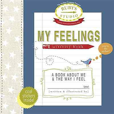 My Feelings Activity Book: A Book about Me & the Way I  - Paperback NEW Schiller