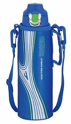 THERMOS Vacuum Insulation Sports Bottle 1.0L FFF-1000F BL from Japan New