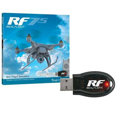 NEW Great Planes RealFlight 7.5 w/Wireless SLT Interface GPMZ4524