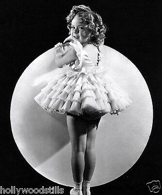 Shirley Temple standing in front of the moon 8x10 rare photo