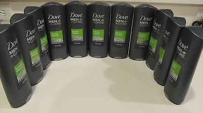 11 Dove Men + Care Extra Fresh Cooling Agent body and face wash 13.5 fl oz each