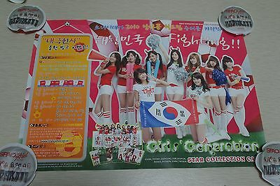 SNSD Girls Generation Star Collection Card S-2 Official Poster Promo Only