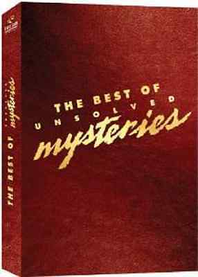The Best Of Unsolved Mysteries (DVD, 2006, 4-Disc Set) - NEW!!