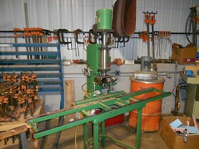 GRASS  Pneumatic Electric Hinge Boring and Insertion Machine