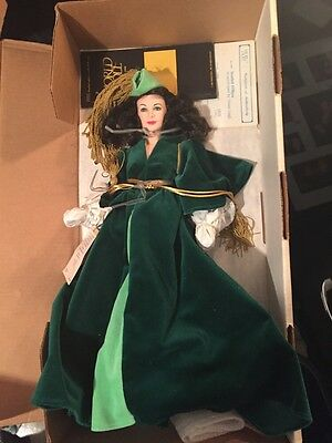 """Gone With the Wind Collectible Doll 19"""" BIG Scarlett World Doll Vintage Green"""