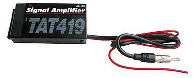 Best Kits AB150 Car Stereo Amfm Power Antenna Amplifier & Booster Signal New
