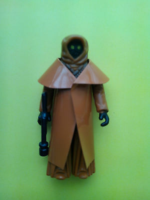 VINTAGE 1977 KENNER JAWA ACTION FIGURE LOOSE WITH VINYL CAPE BID NOW MINT
