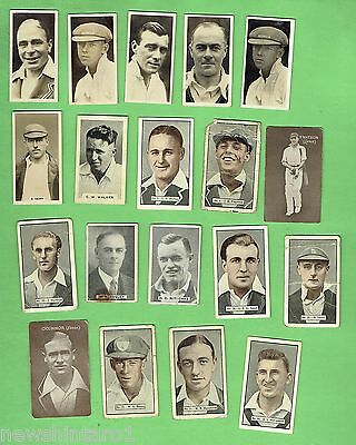 #d150.  19 Old  Cricket   Cards