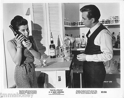 STEPHANIE POWERS BOBBY DARIN ORIGINAL Vintage 1962 Photo If A Man Answers