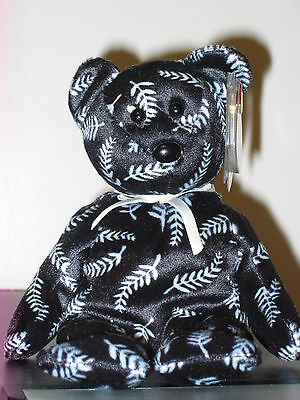 Ty Beanie Baby ~ SILVER the Bear ~Asia Pacific Exclusive~ MINT with MINT TAGS