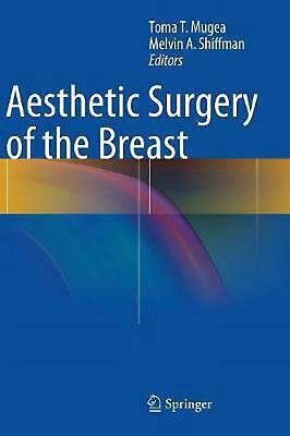 Aesthetic Surgery of the Breast (English) Hardcover Book Free Shipping!