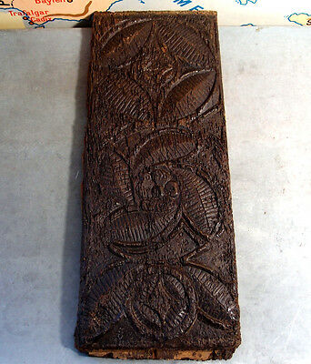 16th ANTIQUE FRENCH CARVED WOOD PEDIMENT MOUNT ORNAMENT PANEL architectural 5