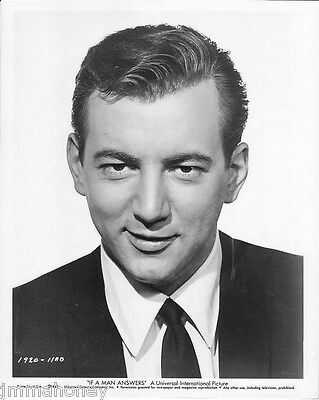 BOBBY DARIN ORIGINAL Vintage 1962 Key Book PORTRAIT Photo IF A MAN ANSWERS