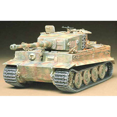 TAMIYA 35146 Tiger Tank I Late Version 1:35 Military Model Kit