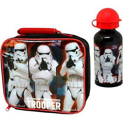 Star Wars - Stormtrooper Lunch Bag And Bottle Set - New & Official With Tags