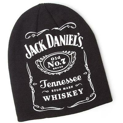 Jack Daniels: Old No.7 Brand Beanie Hat - New & Official With Tag