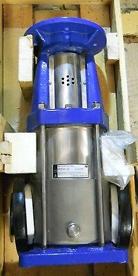 Dp Pumps Model Dpvf45-20 Vertical Multi-Stage Centrifugal Pump New Condition