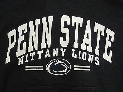 PENN STATE NITTANY LIONS HOODED SWEATSHIRT YOUTH MEDIUM BLUE COTTON!!!!!!