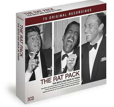 The Rat Pack The Boys Are back In Town 3-CD NEW SEALED Frank Sinatra/Dean Martin