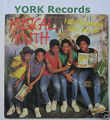 """MUSICAL YOUTH - Never Gonna Give You Up Ex 7"""" Single PS"""