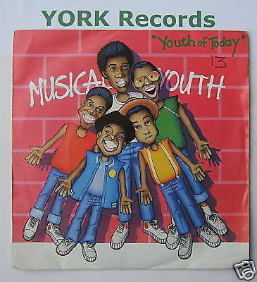 """MUSICAL YOUTH - Youth Of Today - Ex Con 7"""" Single PS"""