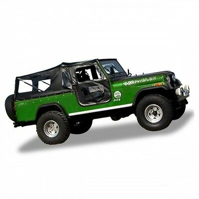 Jeep CJ8 Scrambler Verdeck Tigertop mit Softtoptüren Black Crush Bestop 76-86