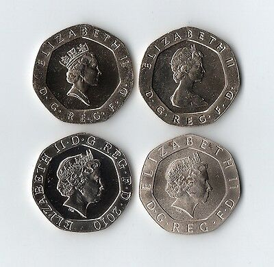 1982 - 2020 UNC 20p Twenty Pence Coin ~ Brilliant Uncirculated ~ Royal Mint