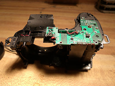 GE X500 digital camera parts, main body and control top board