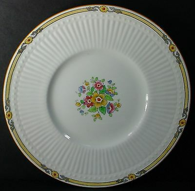 """CROWN STAFFORDSHIRE china SPRINGTIME 12260 pattern LUNCHEON Salad PLATE 8-1/4"""""""