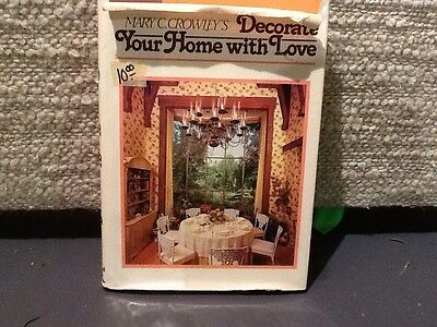 #  Decorate your home with Love book  Home Interiors & Gifts hardback