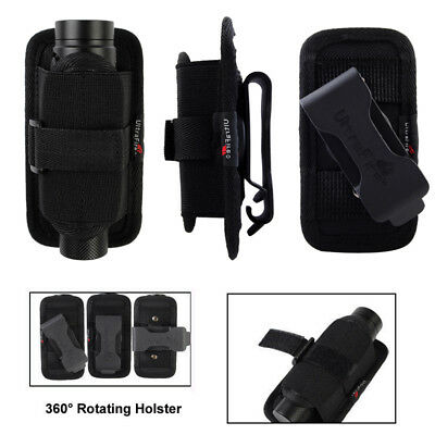 Belt Clip Holster Pouch for LED Lenser M7R M7RX M8 Rechargeable Flashlight torch